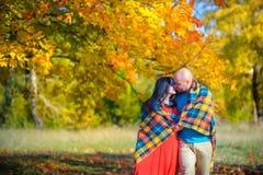 пожененное счастливое пар Стоковое Изображение RF