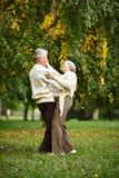 пожененные пары зреют Стоковые Фото