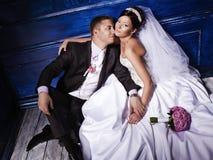 Пожененные пары Стоковая Фотография