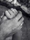 Пожененные руки стоковое изображение rf