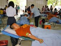 пожертвование крови предпосылки медицинское Стоковая Фотография RF