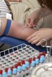пожертвование крови 3 новое Стоковые Фото