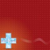 Предпосылка пожертвования крови. Стоковое Фото