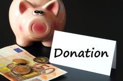 пожертвование стоковое изображение