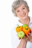 пожилая женщина Стоковые Фотографии RF