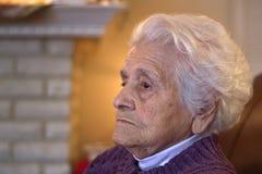 пожилая женщина Стоковое фото RF