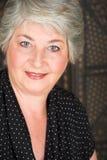 пожилая итальянская женщина Стоковые Изображения RF