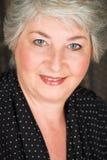 пожилая итальянская женщина Стоковое фото RF
