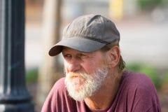 Пожилой гражданин портрета Стоковая Фотография