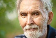 пожилой портрет человека Стоковые Изображения