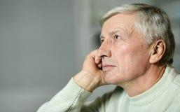 пожилой человек заботливый Стоковые Фотографии RF