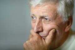 пожилой человек заботливый Стоковое Фото