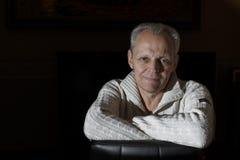 Пожилой человек - портрет Стоковое Изображение RF