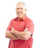 пожилой человек Стоковая Фотография