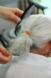 пожилые люди внимательности Стоковые Фото
