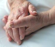 пожилые люди внимательности Стоковые Изображения RF