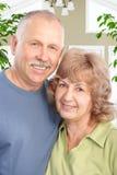 пожилые люди пар Стоковые Изображения