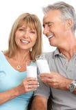 пожилые люди пар Стоковые Фотографии RF