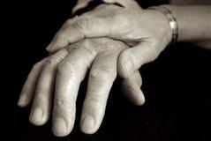 пожилые люди внимательности Стоковая Фотография