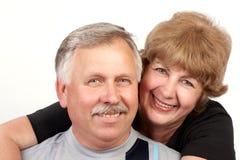 пожилые люди пар Стоковые Изображения RF