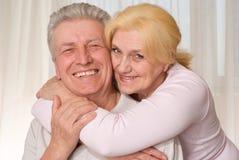 Пожилые пары ся совместно Стоковые Фотографии RF