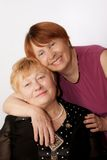 пожилые старшии 2 портрета Стоковые Изображения