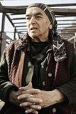 пожилая женщина сада Стоковые Изображения