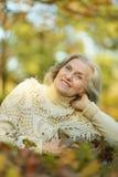 Пожилой лежать женщины Стоковые Изображения