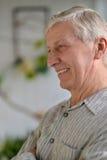 пожилой человек заботливый Стоковое фото RF