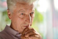 пожилой человек заботливый Стоковые Фото
