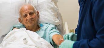 Пожилой человек Стоковая Фотография RF