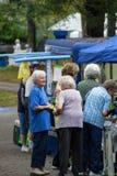 Пожилые женщины на фестивале наследия Стоковая Фотография RF
