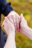 Пожилые руки Стоковое фото RF