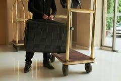 Позаботиться о багаж Стоковые Изображения RF