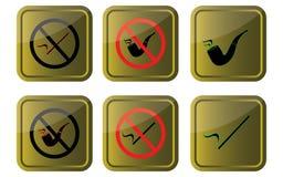 позволенный не курить Стоковое Изображение