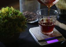 Позволяет для того чтобы полить ваш кофе Стоковая Фотография RF