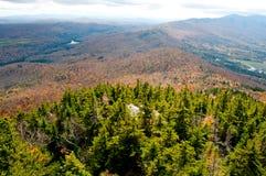 Позвоночник зеленых гор Стоковая Фотография