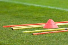 Позволяет футболу поезда Стоковое Фото