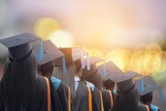 Поздравил студент-выпускников Стоковые Изображения