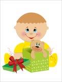 Поздравительая открытка ко дню рождения детей. Стоковые Фото