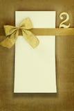 Поздравительая открытка ко дню рождения с днем рождения Стоковая Фотография