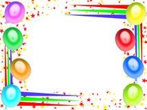 поздравительая открытка ко дню рождения 06 счастливая иллюстрация штока