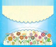 Поздравительная открытка для поздравления или приглашения Стоковое Фото