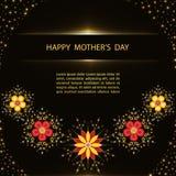 Поздравительная открытка дня ` s матери Стоковая Фотография