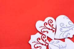 Поздравительная открытка конфеты Стоковые Изображения RF