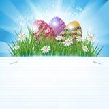Поздравительная открытка пасхи стоковые фотографии rf
