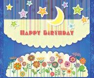 Поздравительная открытка с днем рождения Стоковая Фотография