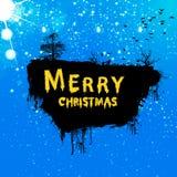 Поздравительная открытка Grunge рождества Стоковые Фотографии RF