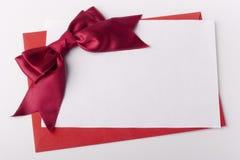 поздравительное письмо стоковое изображение rf