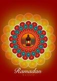 Поздравление поздравительной открытки Рамазана Kareem бесплатная иллюстрация